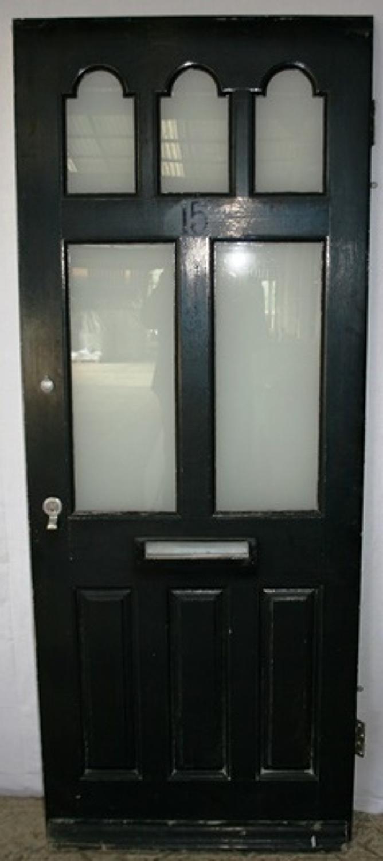 DE0711 a Victorian Style Front Door in Pine