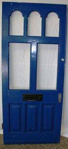 DE0710 A Victorian Pine Front Door