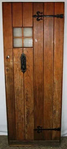DE0712 An Oak Cottage Door suitable for External Use