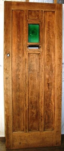 DE0703 A Handsome Oak Cottage Door, suitable for external use