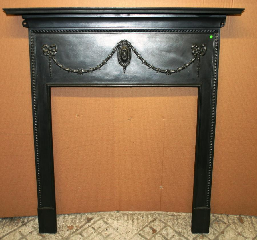 FS0012 A Decorative Neo-Georgian Design Cast Iron Fire Surround