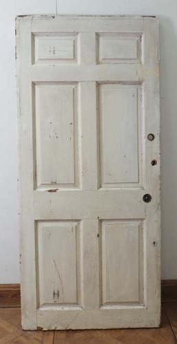 DB0338 A Lovely Original Georgian Pine Panelled Door