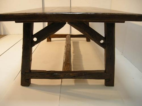 Kitchen Table made from reclaimed wood