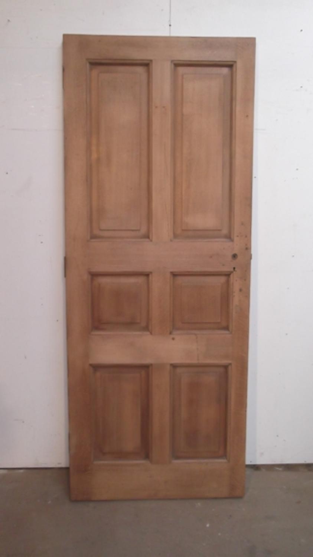DB0175 Oak 6 Panel Door c.1910