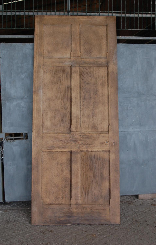 DB0203 VICTORIAN 6 PANEL, OAK AND PINE DOOR