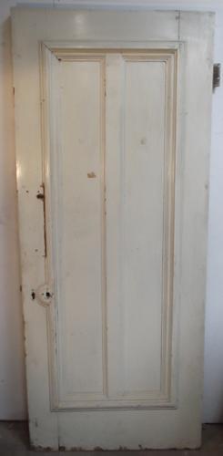 Db0262 A Solid Victorian External Door, Adelphi Hotel