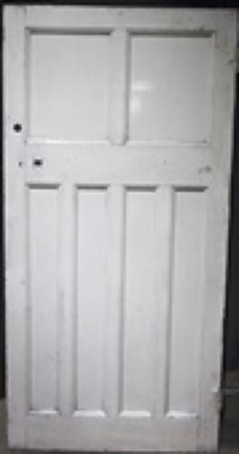 DB0301 An Edwardian Arts & Crafts Door for Internal or External Use