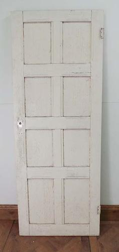 DB0316 LOVELY SOLID VICTORIAN PINE PANELLED DOOR