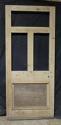 DB0409 ORIGINAL VICTORIAN PANELLED PINE DOOR - picture 1