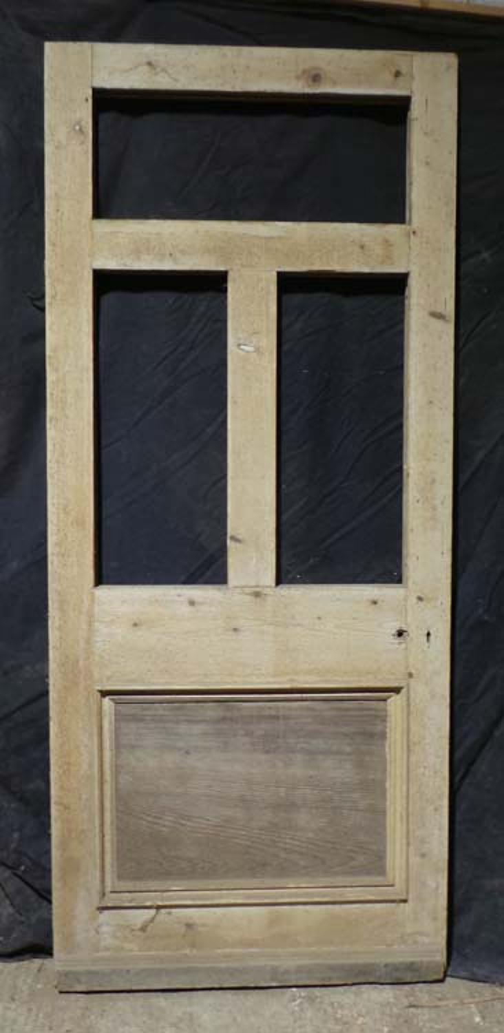 DB0409 ORIGINAL VICTORIAN PANELLED PINE DOOR