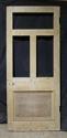 DB0409 ORIGINAL VICTORIAN PANELLED PINE DOOR - picture 2