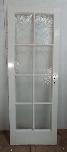 DB0413 ORIGINAL EDWARDIAN PINE GLAZED DOOR