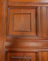 DB0421 VICTORIAN ARTS & CRAFTS STYLE SIX PANELLED PITCH PINE DOOR - picture 3