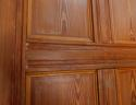 DB0422 VICTORIAN ARTS & CRAFTS STYLE SIX PANELLED PITCH PINE DOOR - picture 4