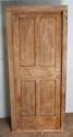 DB0425 STUNNING VICTORIAN SOLID OAK PANELLED DOOR WITH FRAME - picture 1