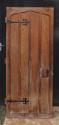 DB0464 LOVELY UNUSUAL EDWARDIAN PINE & OAK DOOR - picture 1