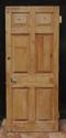 DB0464 LOVELY UNUSUAL EDWARDIAN PINE & OAK DOOR - picture 2