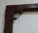 DB0469 LARGE VICTORIAN GOTHIC MAHOGANY DOOR FOR GLAZING - picture 3