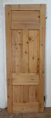 DB0493 LOVELY VICTORIAN PANELLED PINE DOOR