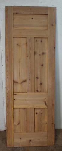 DB0494 LOVELY VICTORIAN PANELLED PINE DOOR