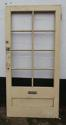 DB0505 BEAUTIFUL VICTORIAN PANELLED PINE DOOR FOR GLAZING - picture 2