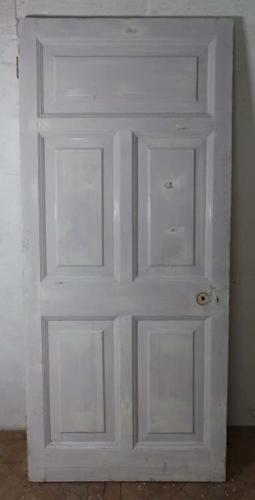 DB0514 LOVELY VICTORIAN PANELLED PINE DOOR