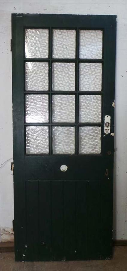 DB0520 A BEAUTIFUL VICTORIAN PINE GLAZED DOOR