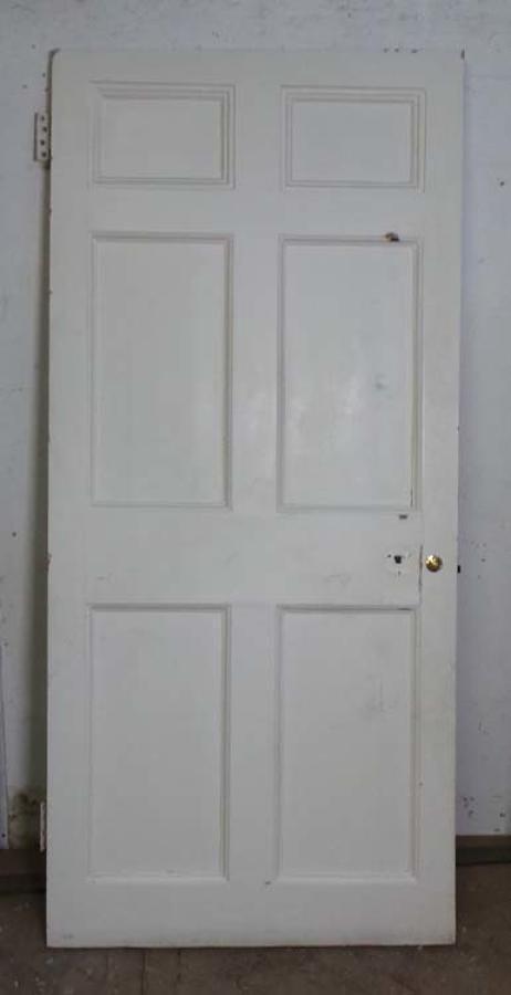 DB0523 LOVELY VICTORIAN PANELLED PINE DOOR
