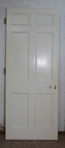 DB0526 LOVELY VICTORIAN PANELLED PINE DOOR