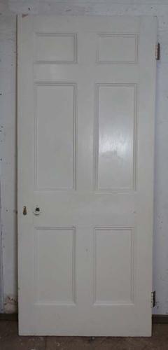 DB0529 LOVELY VICTORIAN PANELLED PINE DOOR