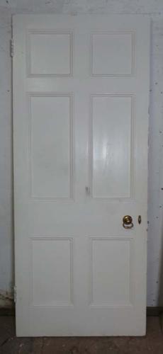 DB0530 LOVELY VICTORIAN PANELLED PINE DOOR