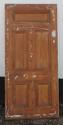 DB0549 A TRADITIONAL VICTORIAN PANELLED PINE DOOR - picture 2