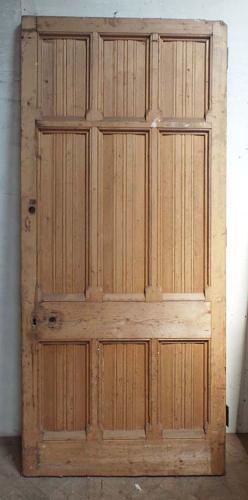 DB0570 HIGH VICTORIAN LARGE DOOR DESIGNED BY GEORGE GILBERT SCOTT