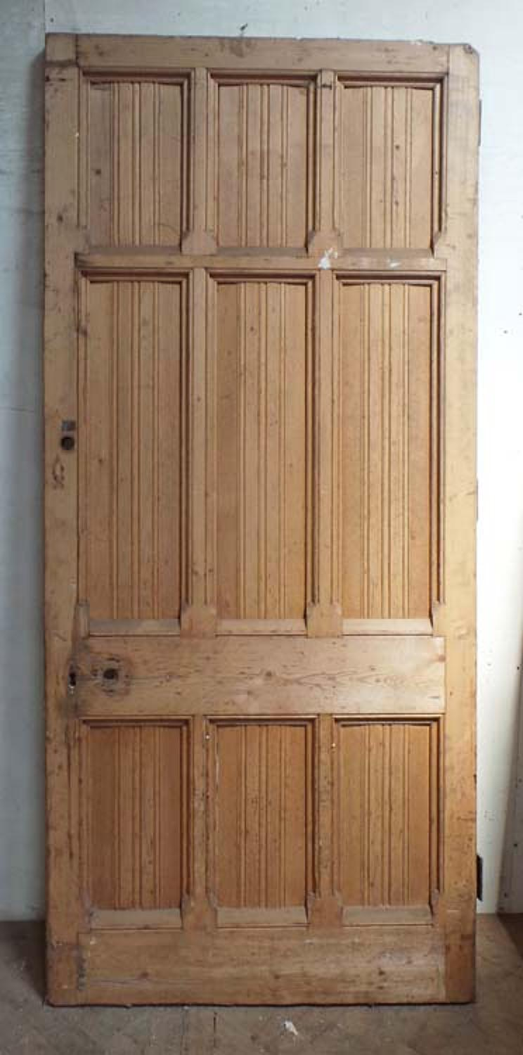 DB0570 HIGH VICTORIAN LARGE DOOR DESIGNED BY GEORGE GILBERT SCOTT