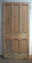 DB0571 HIGH VICTORIAN LARGE PANELLED PINE DOOR - picture 1
