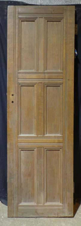 DB0610 STUNNING EDWARDIAN ARTS & CRAFTS SOLID OAK PANELLED DOOR