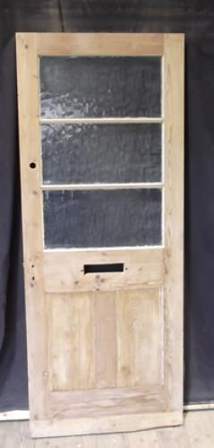 DE0253 c.1900 Pine Front Door