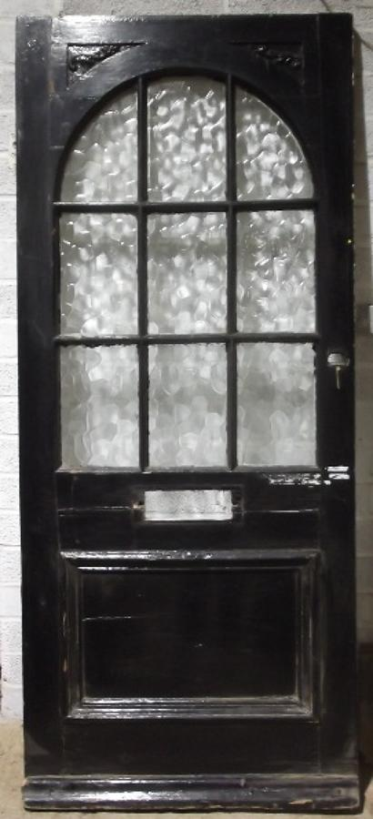DE0314 A Late Victorian Glazed Front Door
