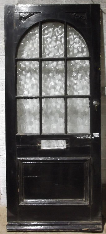 DE0314 A Late Victorian Glazed Front Door