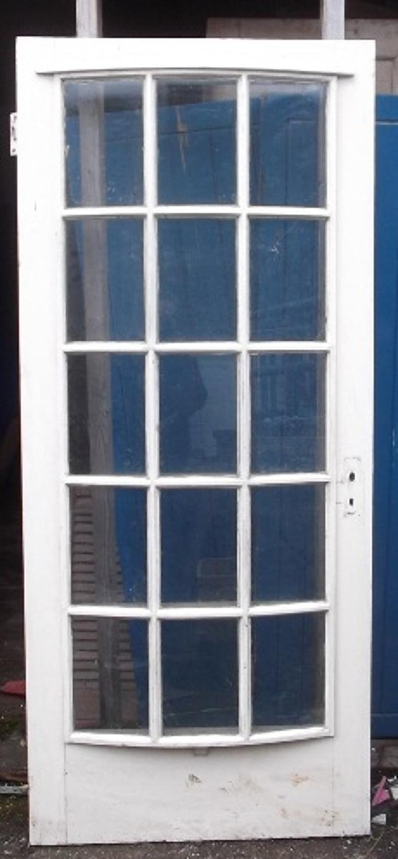 DE0322 An Unusual, Curved, Glazed door