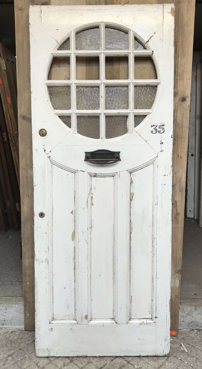DE0415 An Elegant Edwardian Glazed Front Door