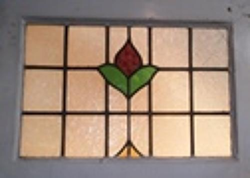 De0426 An Edwardian Stained Glass Front Door In Edwardian Doors