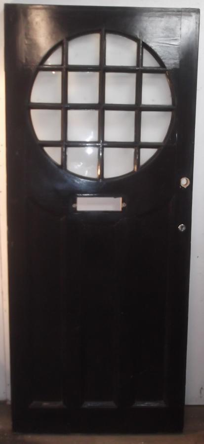 DE0457 An Elegant Edwardian Glazed Front Door c.1925