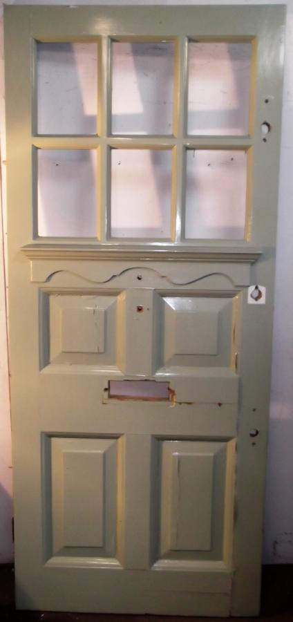 DE0462 A 1930?s Edwardian Pine Front Door