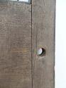 DE0511 UNUSUAL EDWARDIAN SOLID OAK DOOR FOR GLAZING - picture 4