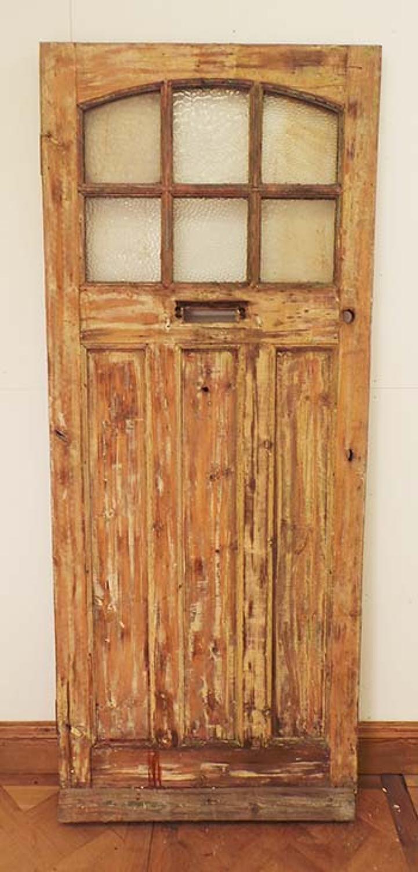 DE0513 CLASSIC EDWARDIAN PINE GLAZED DOOR