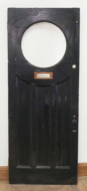DE0536 CLASSIC EDWARDIAN PANELLED PINE DOOR