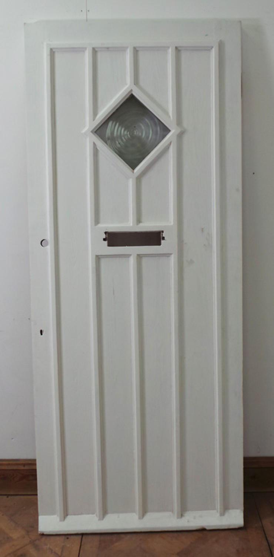 DE0548 STUNNING EDWARDIAN PINE COTTAGE STYLE DOOR