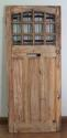 DE0565 STUNNING CLASSIC EDWARDIAN PINE STAINED GLASS DOOR - picture 2