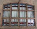 DE0565 STUNNING CLASSIC EDWARDIAN PINE STAINED GLASS DOOR - picture 3